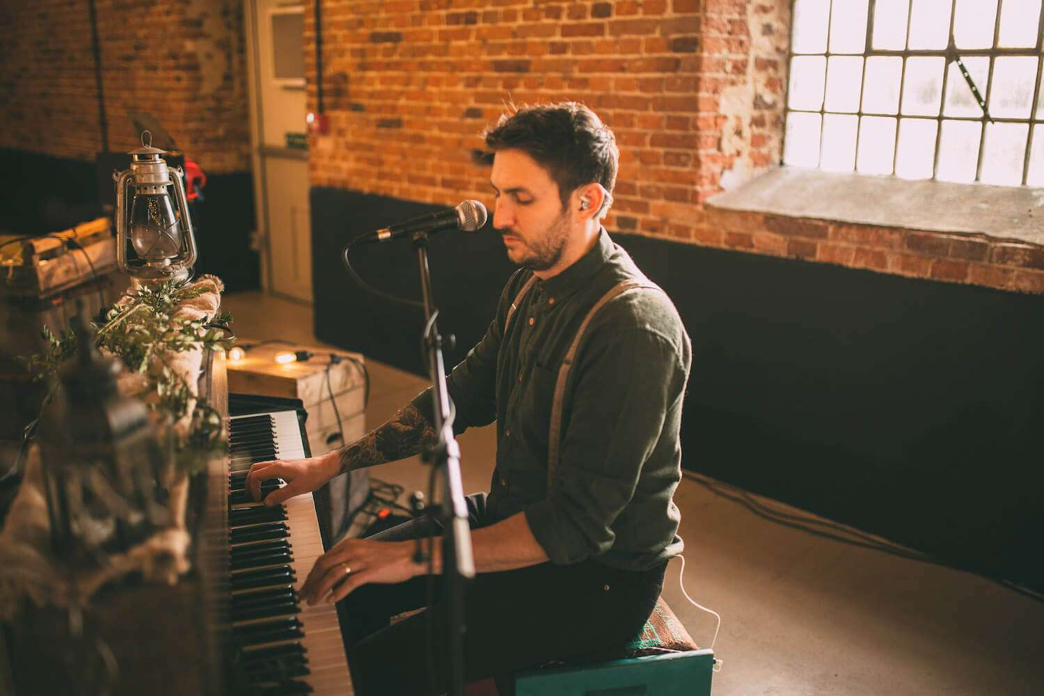 Marc on Piano