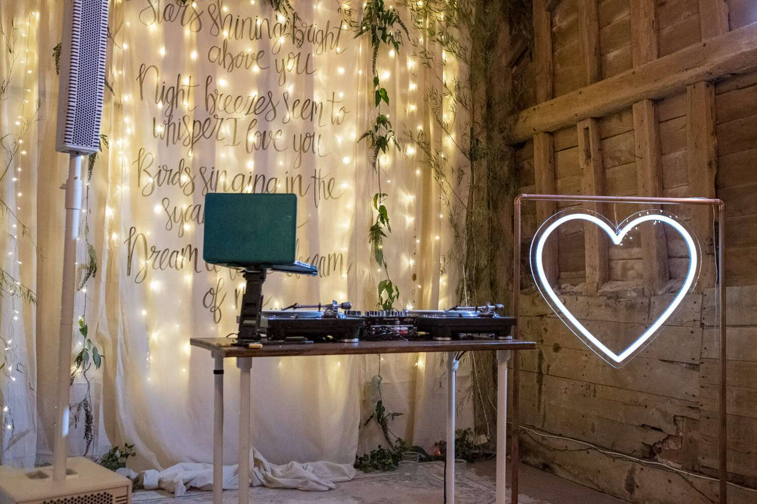 Micro wedding setup Essex